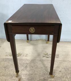 Antique Reproduction Federal Style Drop Side Table
