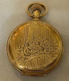 1889 Mermod Jaccard & Company 14K Pocket Watch