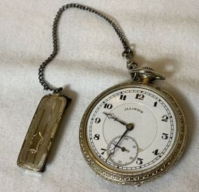1923 Illinois 14K Gold Filled Pocket Watch