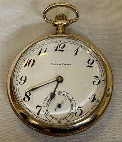 1916 South Bend Model 2 Open Face Pocket Watch