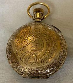 1893 Elgin Gold Filled Pocket Watch