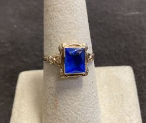 Antique Setting 10K Gold Ring