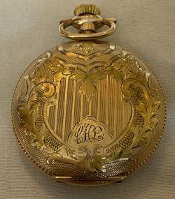 Alpine 25 yr Gold Gilled Pocket Watch