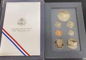 United States Mint 1991 Prestige Set