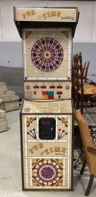 Vintage 1984 Pub Time Darts Machine
