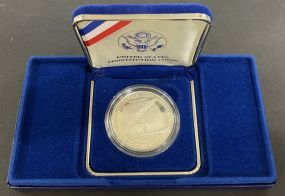 U.S. Constitution 200th Anniversary Silver Proof Coin 1787-1987 We the People