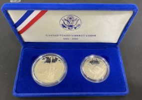 United States Liberty Silver Coins 1886-1986