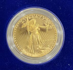 1986 $50 Gold 1 Oz. American Eagle Proof