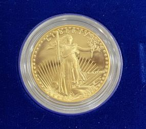 1987 $50 Gold 1 Oz. American Eagle Proof