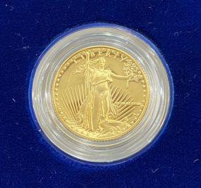1988 American Eagle One-Quarter Ounce Ten Dollar Gold Coin