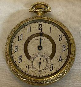 1920 Waltham Model 1894 Open Face Pocket Watch