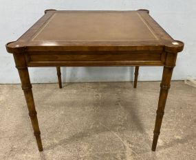 Drexel Heritage Bamboo Style Game Table