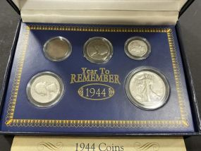 A Year To Remember 1944 Coin Set