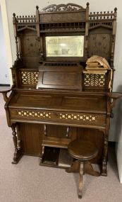 Antique Pump Organ