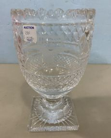 USF & G Classic Waterford Crystal Vase