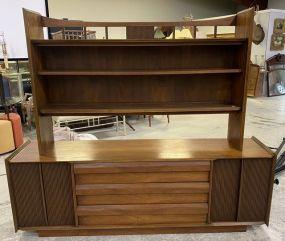 Vintage Lane Furniture Mid Century Server/Hutch