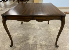 Cherry French Style Square Table/Game Table