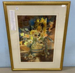 Susan Cox Davis Watercolor Still Life