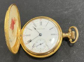Waltham Size 6 14 K Pocket Watch