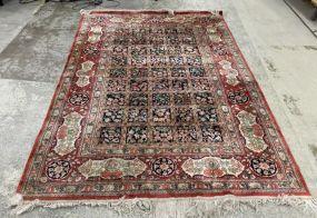 Nice Silk Hand Woven Area Rug 6' x 8'9