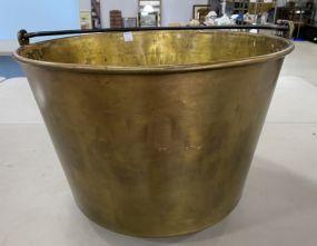 Solid Brass Apple Butter Pot
