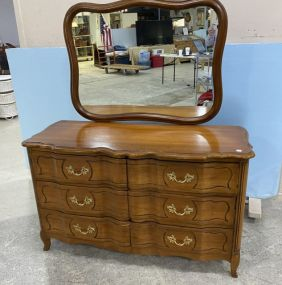 Kent Coffey The Bordeaux Country French Cherry Double Dresser