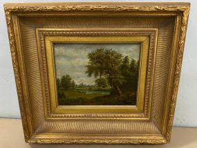 Landscape Oil Painting by Pollins