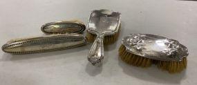 Sterling Vanity Dresser Brush Set