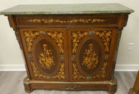 French Empire Style Pier Cabinet