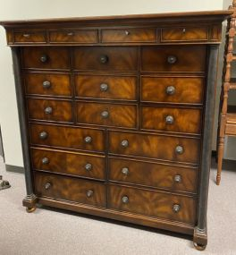 Reproduction Empire Style Tall Chest