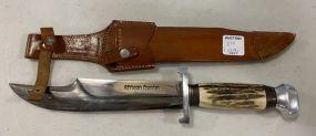 Hoffritz Germany African Hunter Bowie Knife