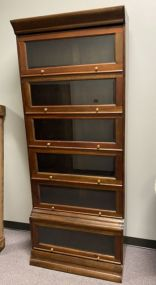 Modern Six Door Barrister Bookcase