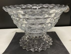 Fostoria American Clear Punch Bowl