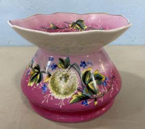 Old Paris Porcelain Spittoon