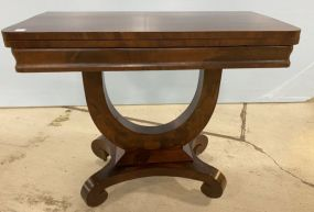 Antique Empire Style Wall Console Table