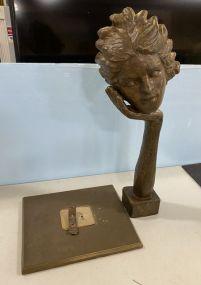 Victor Salmones Bronze Statue 7/10