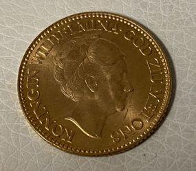 1932 10 Gulden Wilhelmina