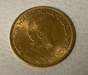 Netherlands 10 Gulden 1913