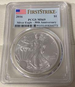 2016 $1 Silver Eagle