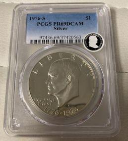 1976-S 1776-1976 Eisenhower Dollar