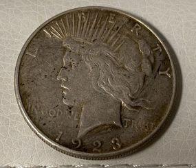 1923 Peace Liberty Dollar S