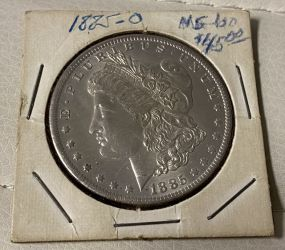 1885 Morgan Silver Dollar O