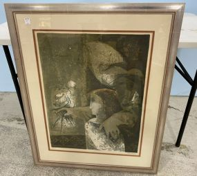 Sunol Alvar Hand Signed and Numbered Lithograph