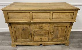 Antique Style Primitive Cabinet