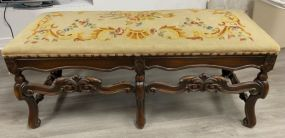 French Style Upholstery Window/Bed Bench