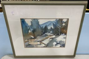 Mary Pat Smith Landscape Watercolor