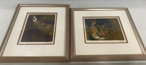 Two Sunol Alvar Hand Signed and Numbered Lithograph
