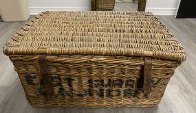 East Surrey Laundry Woven Basket