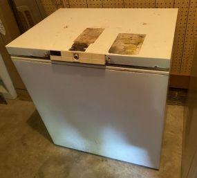 Vintage Chest Freezer