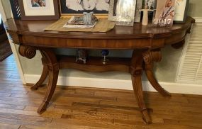 French Style Cherry Sofa Table